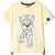 Paw Patrol Short Sleeve Cotton T-Shirt, Boys 2-8 yrs - Yellow
