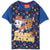 Paw Patrol Short Sleeve Cotton T-Shirt, Boys 2-8 yrs - Navy