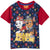 Paw Patrol Short Sleeve Cotton T-Shirt, Boys 2-8 yrs - Red