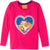 Paw Patrol Cotton Long Sleeve Top, T-Shirt Girls 2-8 yrs - Reversible Sequins