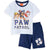 Paw Patrol Summer Outfit Cotton Set T-Shirt and Shorts Boys 2-8y - Blue/Navy