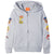 Paw Patrol, Zipped Hoodie made with Cotton for Boys 2-8 years - Grey
