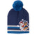 Paw Patrol Boys Winter Beanie Hat with Pom Pom 2-8 Years - Dark Blue