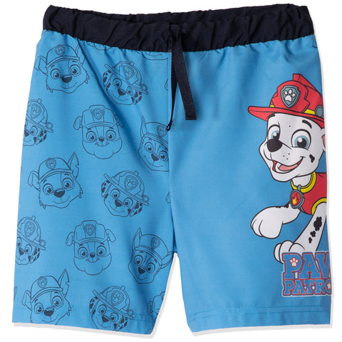 Paw Patrol Swimming Shorts, Trunks Boys 2-8 years - Blue