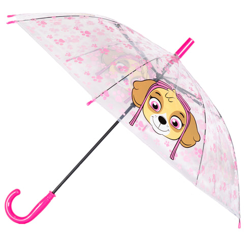 Paw Patrol - Skye Character Kids Automatic Umbrella 75 cm - Transparent/Blue