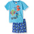PJ Masks Boys Girls Short Sleeve Pyjamas Set 100% Cotton 2-8 years - Blue
