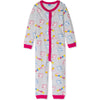 Peppa Pig Cotton Onesie / Sleepsuit Pyjamas for Girls 3-8 years - Grey