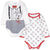 Disney Mickey Mouse Baby Boys Long Sleeve Bodysuits 3-24 Months 2-PACK