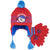 Paw Patrol Boys Winter Set of Hat Peruvian Style Hat and Gloves 2-8 Years - Red