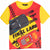 Disney Pixar Cars Boy's Cotton Made Short Sleeve Top T-Shirt 2-8 Years - Yellow