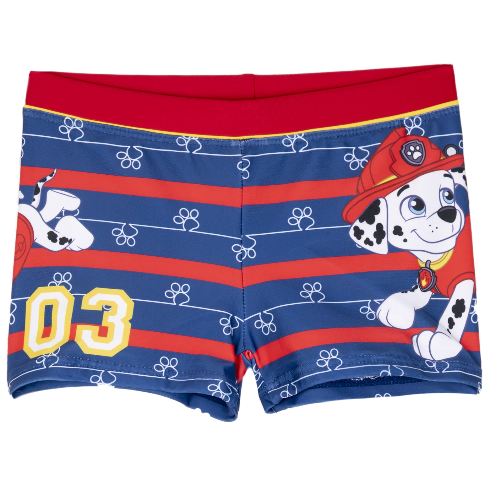 62dc015e10e51 Paw Patrol Boys Swimming Boxers, Swimsuit Trunks 2-6 Years - Navy, Marshall