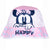 Disney Minnie Mouse Baby Girl's Bucket Hat 0-2 Years - Pink