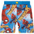 Spiderman Marvel Boys Swimming Shorts, Trunks 3-10 Years - Blue