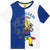 Fireman Sam Short Sleeve Cotton Top, T-Shirt 2-6 Years - White