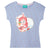 Enchantimals Girls Short Sleeve 100% Cotton Top T-Shirt 2-8 Years - Purple