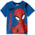 Spiderman Boys Short Sleeve Cotton Top 3-9 years - Blue