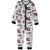 Spiderman Marvel Cotton Onesie / Sleepsuit Pyjamas for boys 3-8 years - Grey