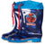 Spiderman - Marvel Wellies, Boy's Waterproof Wellington Boots- Blue