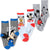 Disney Mickey Mouse Socks 3-pack Sets - Standard Length - 6 Child - 2 UK Size - Pack 1