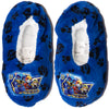 Paw Patrol Boy's House Slippers Warm Cosy Coral Fleece & Sherpa - Blue