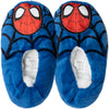 Spiderman Marvel Boy's House Slippers Warm Cosy Coral Fleece & Sherpa - Blue