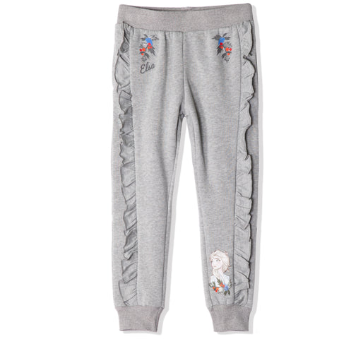 Disney Frozen 2 Fleece Trousers / Sweatpants girls 3-8 years - Grey