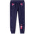 Peppa Pig Fleece Sweatpants / Joggers  - Girl's 2-6 years - Purple