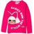 L.O.L. Surprise! Lol Long Sleeve Cotton Top T-Shirt - Girl's 4-10 years - Fuchsia