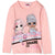 L.O.L. Surprise! Lol Long Sleeve Cotton Top T-Shirt - Girl's 4-10 years - Pink