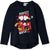 Disney Minnie Mouse Long Sleeve Cotton Top T Shirt - Girls 2-8 years - Navy