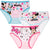 Disney Minnie Mouse Briefs 3-PACK Set of Cotton girl's Underwear - 2-8 years