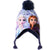 Disney Frozen 2 II Velvet , Winter Hat Trapper / Peruvian Style 2-8 years - Navy