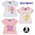 Cary Bears, Baby Girls 3-PACK of Cotton T-Shirts, Tops 0-24 Months