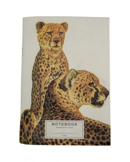 Recycled Paper Notebook Leopard