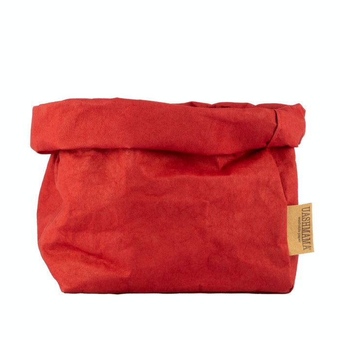 UASHMAMA Large Paper Bag Red