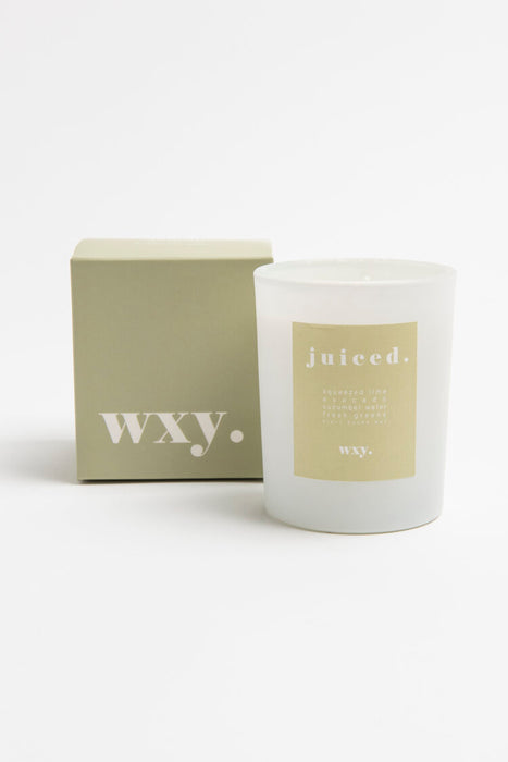 WXY Plant Based Candle - Juiced