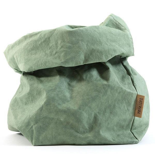 UASHMAMA Large Paper Bag Sage