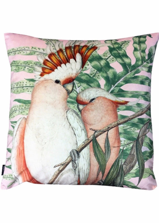 Velvet Cushion Cockatoo