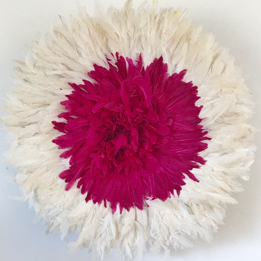 Juju Hat Medium Fushia/White