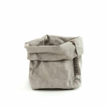 UASHMAMA Small Paper Bag Grey