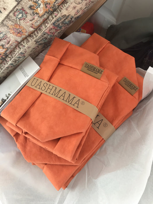 UASHMAMA Large Paper Bag Pesca