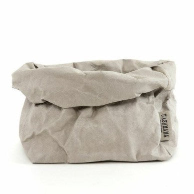 UASHMAMA Large Paper Bag Grey