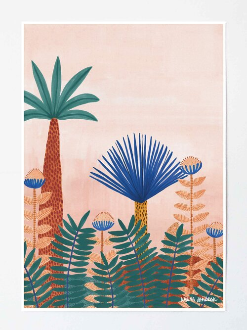 Jungle Blooms Karina Jambrak