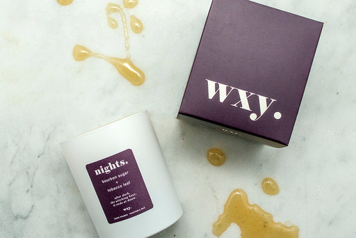 WXY Plant Based Candle - Nights