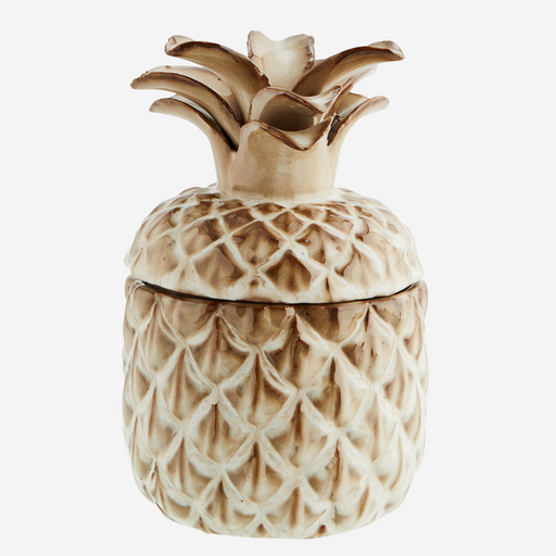 Pineapple Stoneware Jar