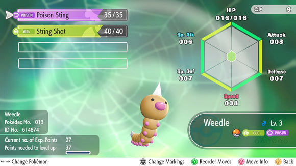 #013 - Weedle - Let's Go
