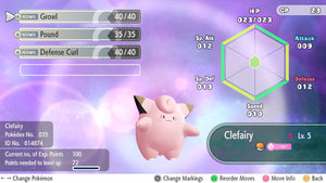 #035 - Clefairy - Let's Go