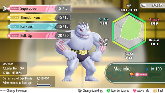 #067 - Machoke - Let's Go