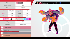 #068 - Gigantamax Machamp