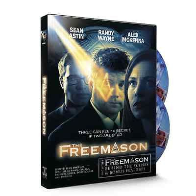 """The Freemason"" Movie Starring Sean Astin (With Subtitles In 7 Languages) DVD"